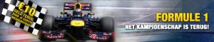 Formule 1 bonus bij betFIRST
