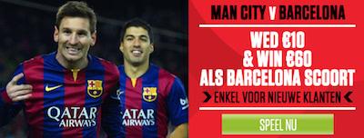Manchester Barcelona bij ladbrokes