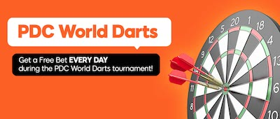 888Sport WK Darts bonus