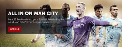 Betsafe Man.City freebet