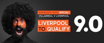 888Sport Liverpool - Villarreal