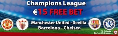Gokken op Manchester Sevilla Wedden