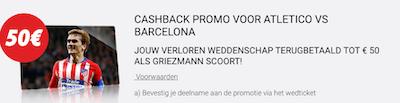 Wedden Atletico Barcelona