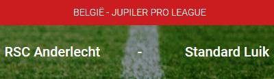Zet via je smartphone in op RSC Anderlecht - Standard Luik bij Circus