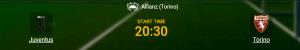 Juve Torino betting