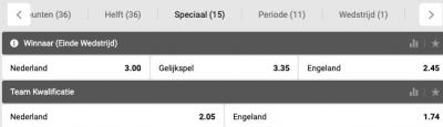 quotes Nederland Engeland Nations League Halve Finale