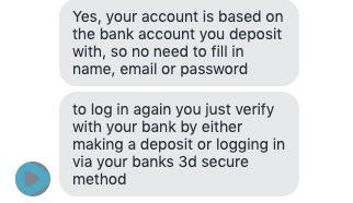 We vroegen de Speedybet live chat hoe je een account aanmaakt.