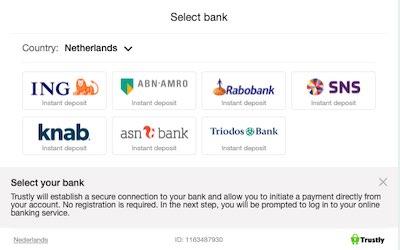 Alle banken die samenwerken met Trustly in Nederland