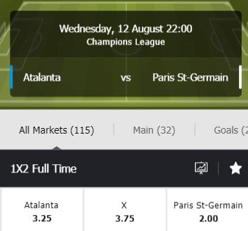 halve finale Champions League wedden met goede odds