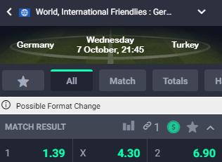 Wedden op Duitsland Turkije