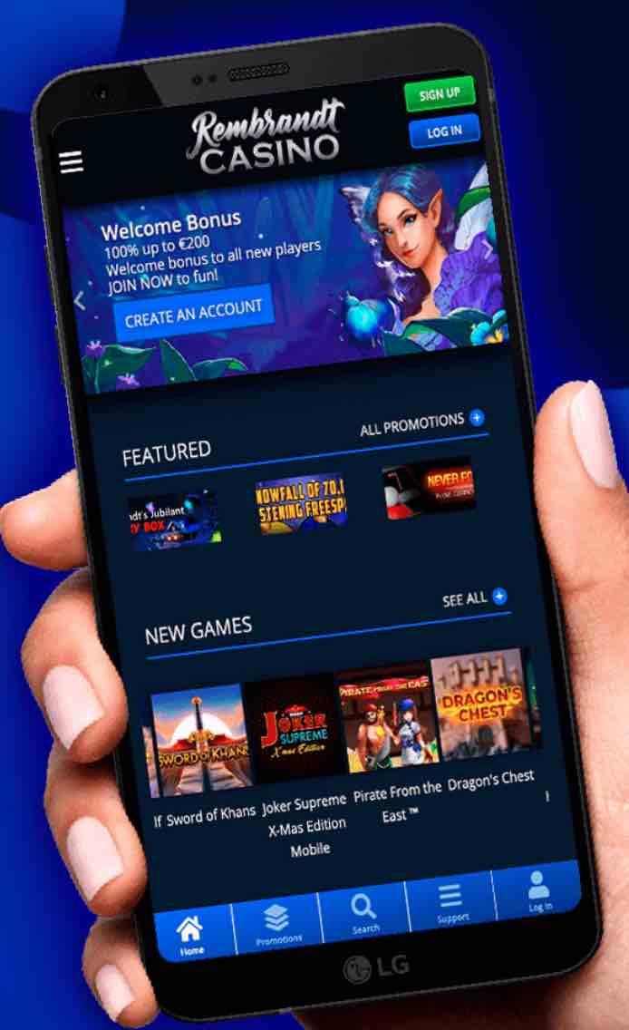 Rembrandt Casino App voor android is makkelijk te downloaden