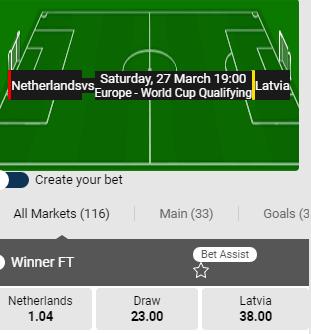 nederland letland wedden met goede odds