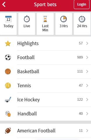 competieoverzicht tipico app
