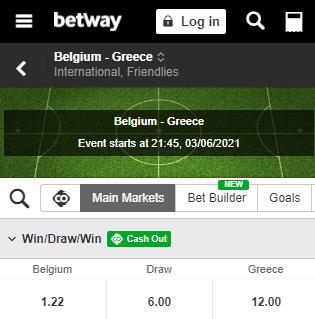 belgie griekenland odds 03-06-2021 betway